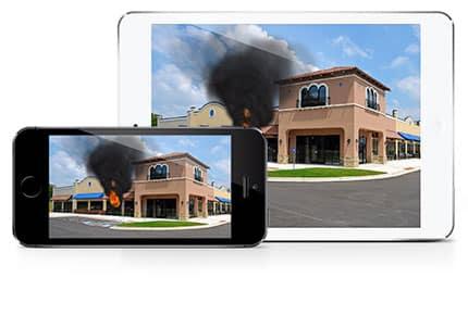 Fire Sim on iPad and iPhone