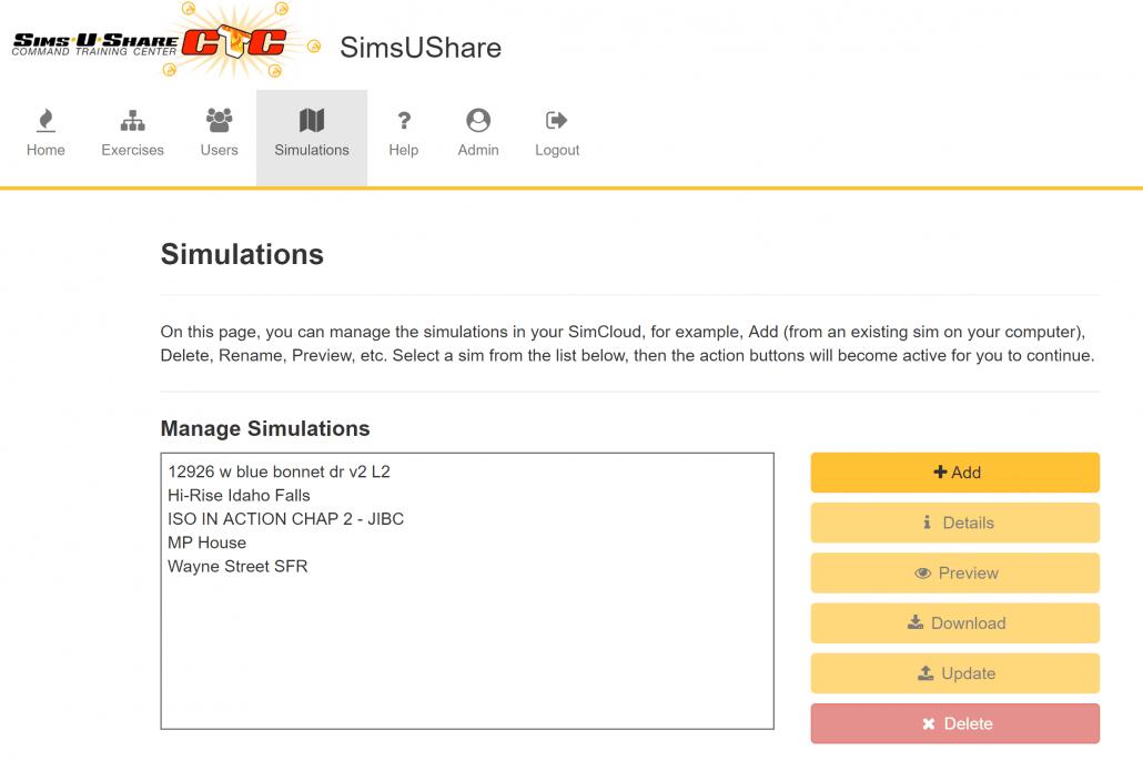 Fire Simulation Software Screenshot