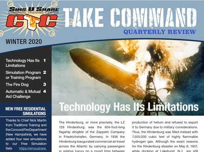 Take Command Winter 2020 Issue Fire Department Newsletter