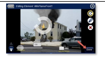 Saving changes to fire simulation