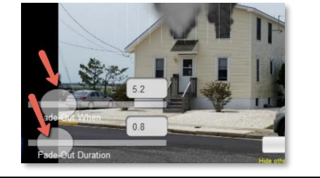 Fade Out Duration Settings for Fire Simulation Effects