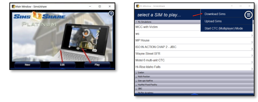 SimsUshare app download fire simulations